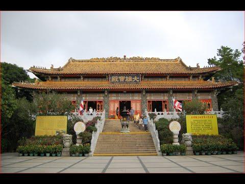 Visiting Po Lin Monastery, Buddhist Temple in Hong Kong, China