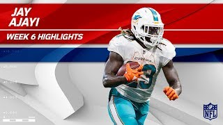 Jay Ajayi's Big Day w/ 26 Carries & 130 Yards! | Dolphins vs. Falcons | Wk 6 Player Highlights