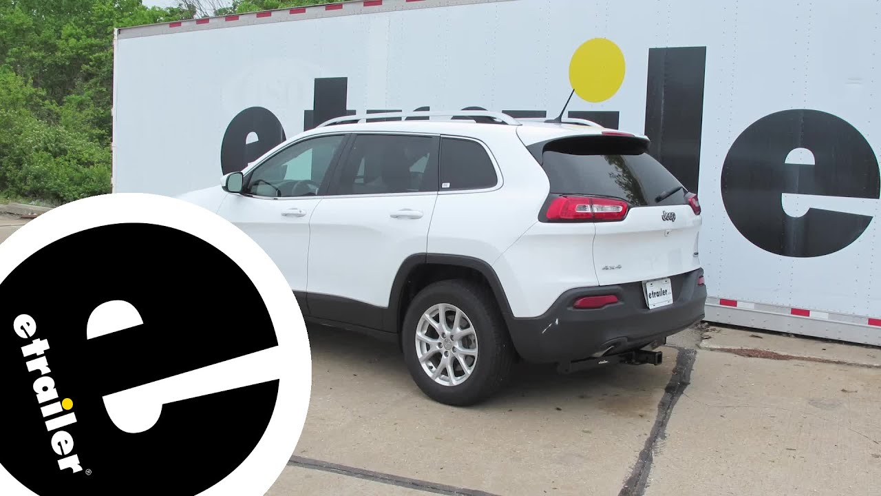 install trailer hitch 2016 jeep cherokee c13171 youtube. Black Bedroom Furniture Sets. Home Design Ideas