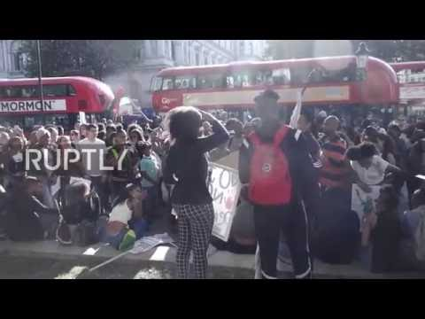 UK: Hundreds of BLM activists honour police victim Mark Duggan in London