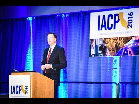 IACP 2016: A Discussion with FBI Director James Comey