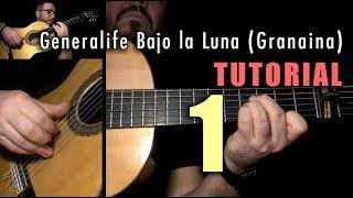Arpeggio Exercise - 32 - Generalife Bajo la Luna (Granaina) INTRO by Paco de Lucia