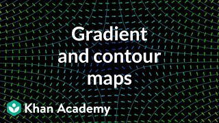 Gradient and contour maps