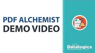 Datalogics PDF Alchemist Demo