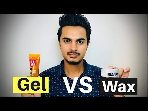 Difference between Hair Wax and Gel   Hair Wax VS Gel