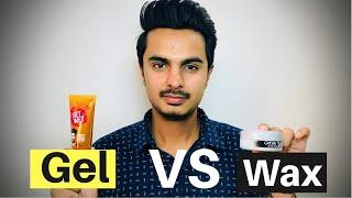 Difference between Hair Wax and Gel | Hair Wax VS Gel