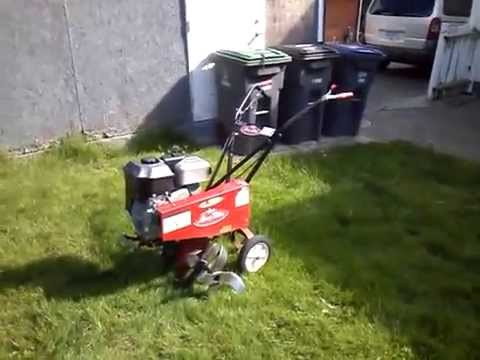 Rototilling The Yard Ultimate Lawnjob O
