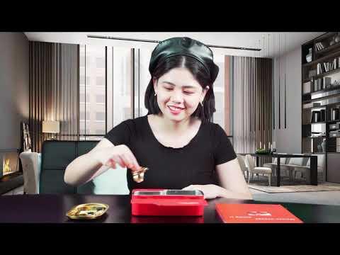 Household Ultrasonic Cleaner For Eyeglasses Jewelry Denture