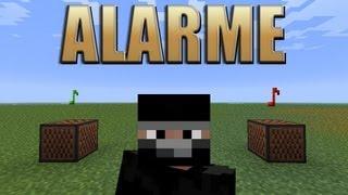 """Alarme """"Pega Ladrão""""  - Minecraft Tutorial 28"""