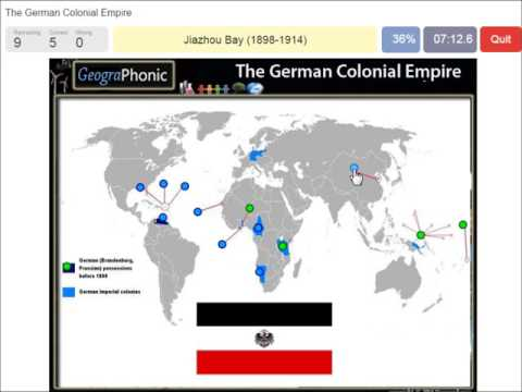 The German Colonial Empire | History Game | imperial colonial possessions