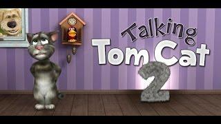 видео Talking Tom Cat 2 для андроид скачать бесплатно приложение Говорящий Кот Том 2