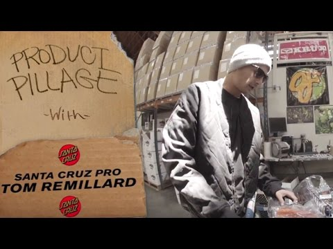 Product Pillage: Tom Remillard for Santa Cruz Skateboards