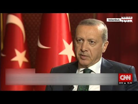 Cumhurbaşkanı Recep Tayyip Erdoğan, CNN International