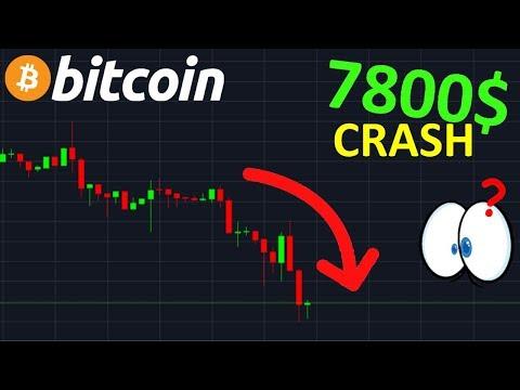 BITCOIN LE CRASH COMMENCE !? btc analyse technique crypto monnaie