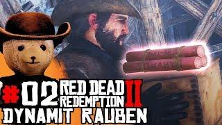 Red Dead Redemption 2 Deutsch Dynamit Raub Gameplay PS4 Pro 4K RDR2