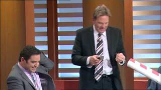 The Footy Show - Hair For Oil Spill