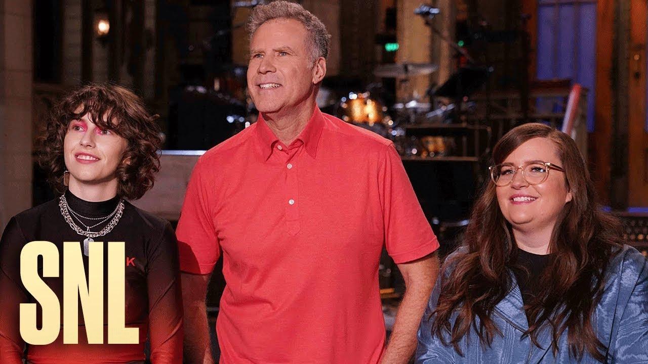 Will Ferrell Catches Up on SNL Gossip