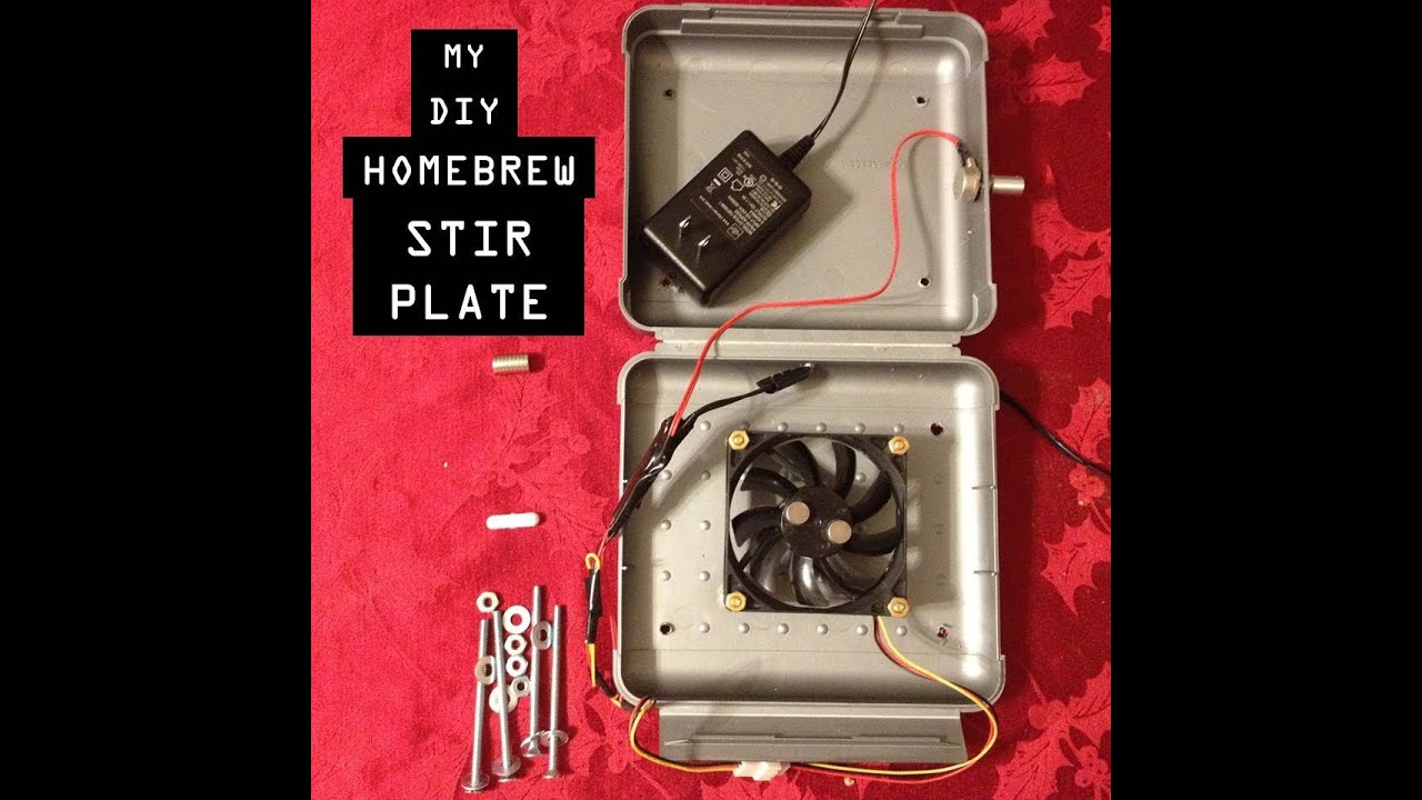 How to Make a DIY Homebrew Stir Plate For Beer Yeast Starters. Cheap Simple and Easy!  sc 1 st  YouTube : stir plate wiring - yogabreezes.com