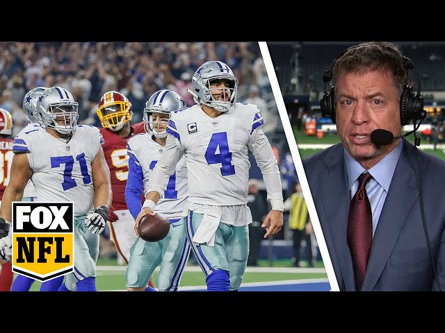 Troy Aikman on 'huge' Dallas Cowboys win to tie first in NFC East | FOX NFL