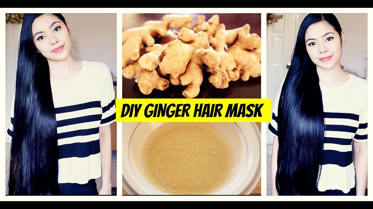 How to use hair masks - Diy Ginger Hair Mask For Hair Growth Natural Hair Loss Treatment Cure For Dandruff Thinning Hair Youtube