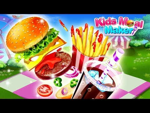 Kids Meal Party - Cooking Games For Girls By FunPop