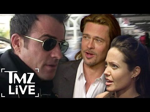 Justin Theroux Feels Bad for Brangelina (TMZ Live)