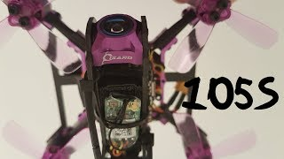 Lizard105S Freestyle Run - 4S mean looking 86g machine - ground RAW DVR w OSD - Eachine