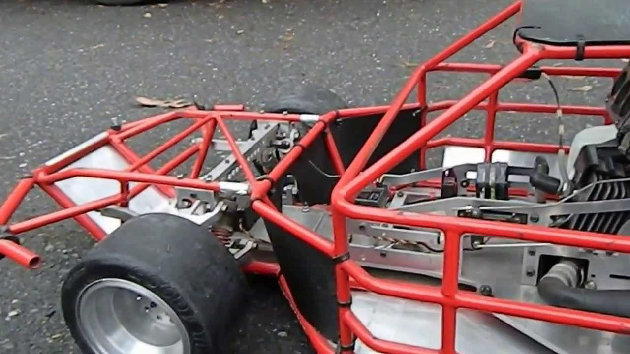 Quarter Scale NASCAR Sprint Car Ready To Race! Part 1 - YouTube