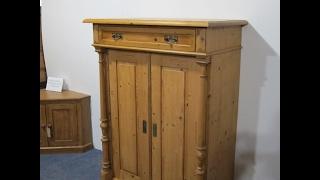 Attractive Antique Storage Cupboard - Pinefinders Old Pine Furniture Warehouse