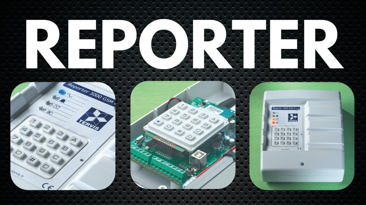 GSM Dialer Tervis Reporter 3000 GSM II-Tab Only