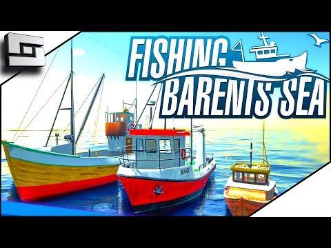 Fishing Barents Sea - HOT FISH GUTS ACTION! - Fishing Barents Sea Gameplay