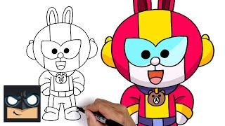 How To Draw Cony Max | Brawl Stars