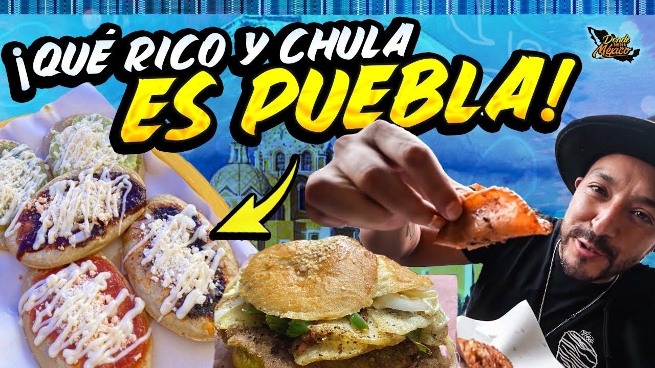 COMIENDO EN LAS CALLES DE PUEBLA | Día 30 #DondeIniciaMexicoLRG