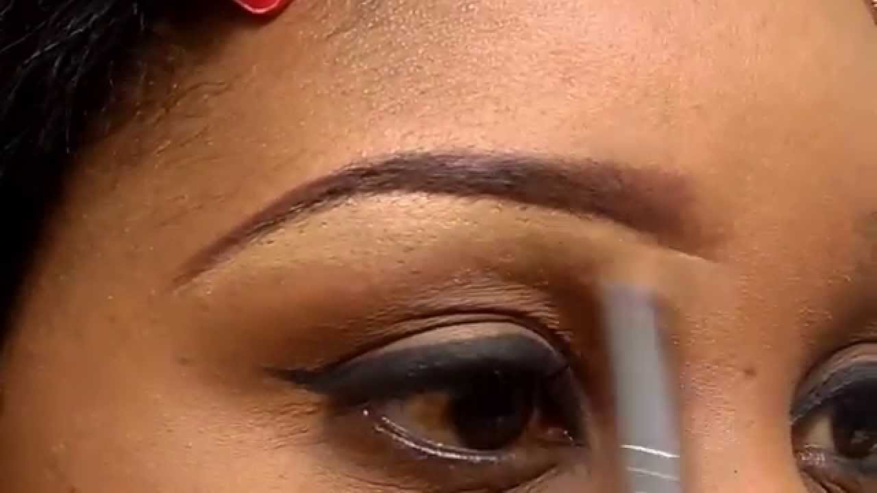 How To Shape Your Eyebrows With Concealer Youtube