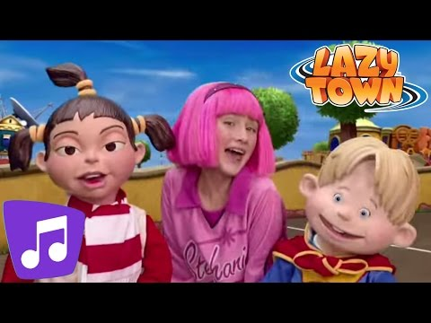 Lazy Town | Playtime Music Video
