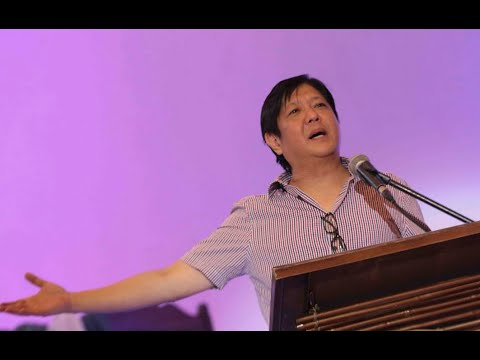 Sen. Bongbong Marcos - LMP Island Cluster Conference at Vigan Convention Center