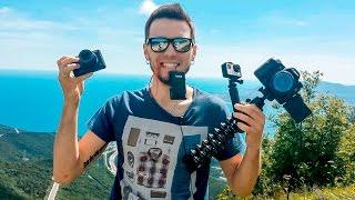 КАМЕРЫ ДЛЯ ВЛОГОВ: Canon IXUX, GoPRO, Canon G7X,  Sony rx100m4, Canon 70D / ОБЗОР / СРАВНЕНИЕ / ТЕСТ