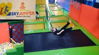 Going to trampoline park for the first time | India Trip Part 17