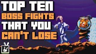 Top Ten Boss Fights That You Can't Lose - rabbidluigi