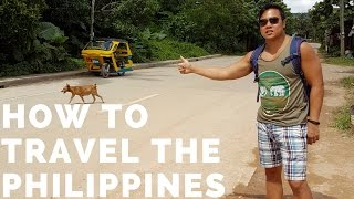 Gambar cover how to travel the Philippines