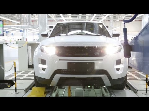 Range Rover Evoque - Production in China