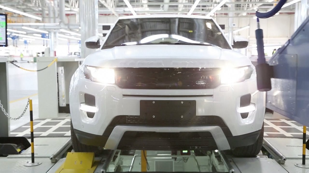 Range Rover Evoque Production in China