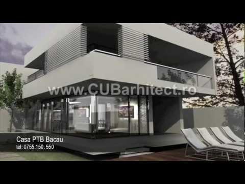 proiecte case mici model casa ptb bacau cub architecture - Casa Cub Moderne