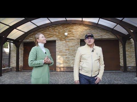 Дмитрий Дибров - арочный навес для машин | Современное строительство