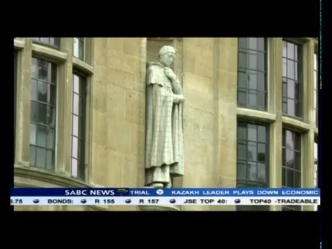 Cecil Rhodes statue to remain at Oxford University after alu
