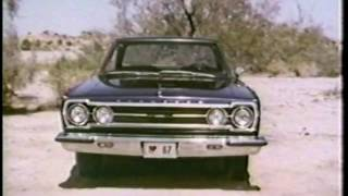 1967 Plymouth Fury Belvedere Valiant Vehicle Line Up TV Commercial - Best Quality Video