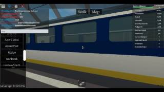 Roblox Terminal Railways Class 373 Eurostar Arrives and Departs