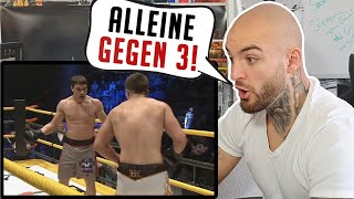 1 gegen 3? KEIN PROBLEM! 4vs4 Team Fights - Thermopylae Team Combat RINGLIFE reaction