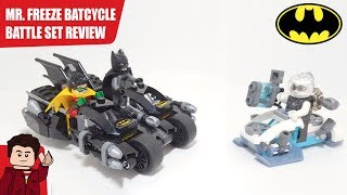 LEGO Batman: Mr. Freeze Batcycle Battle 76118 Set Review
