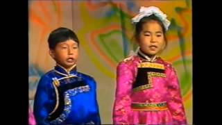 Бурятская детская песня - Орогты манайдаа. (Тук-тук-тук, хэн тоншоноб?)